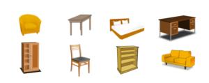 Möbelstücke III – Sala 5