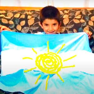 Honramos a nuestra Bandera y a su creador