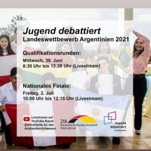 """""""Los Debates de la Juventud"""" """"Jugend debattiert – Argentinien 2021"""""""