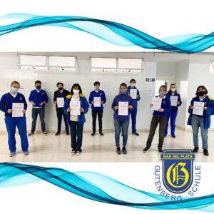 Entrega de certificados Sprachdiplom I